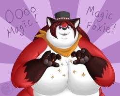 magic_foxy_by_lilbluefoxie-d3i684u